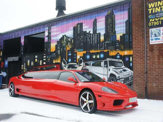 Ferrari 360 Limo Hire Gallery Prestige Limousines